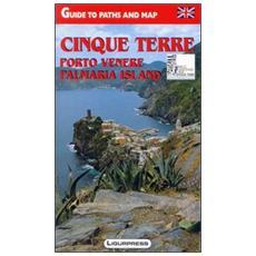 Cinque Terre. Porto Venere. Isola Palmaria. Guida e carta dei sentieri. Ediz. inglese