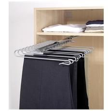 Porta Pantaloni Estraibile, 12 Paia, 33,5 X 47 X 10h Cm