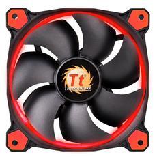 Ventola di Raffreddamento 120 mm Colore Nero e Rosso