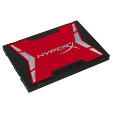 KINGSTON - SSD 960 GB HyperX Savage Interfaccia Sata III 6 Gb...