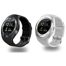 Set Di 2 Smartwatch Sw 422 1 Bianco + 1 Nero