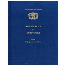 Bibliografia di Enzo Carli