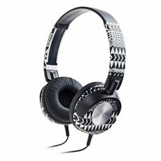 Cuffie HP Slyle On-Ear Colore Nero / Bianco