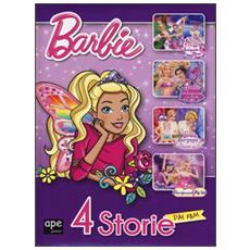 Barbie 4 storie dai film: Barbie e la scarpetta rosaLa principessa delle perleMariposa e la principessa delle fateLa principessa, la pop star