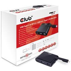 Mini Dock USB Type-C to Displayport1.2 + USB3.0 + USB Type C Charging