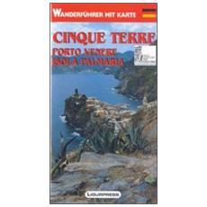 Cinque Terre. Porto Venere. Isola Palmaria. Guida e carta dei sentieri. Ediz. tedesca