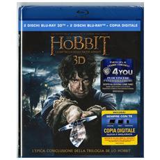 Lo Hobbit - La Battaglia Delle Cinque Armate 3D (2 Blu-Ray 3D+2 Blu-Ray)
