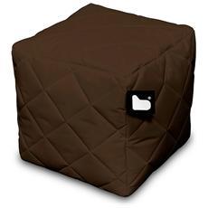 Pouf Outdoor B-box Brown Trapuntato