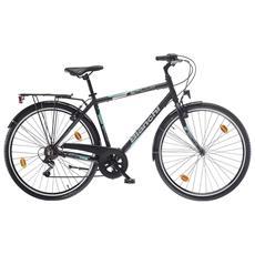 City Bike Bianchi Spillo Turchese Ds Uomo 6v - Nero-ck16