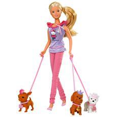 Hello Kitty Posh Puppy, Ragazza, Multicolore, Cestello, Bathtub, Make up table, Animale domestico per bambola, Femmina, Cane, Scatola
