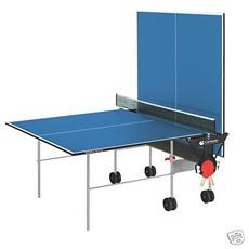 Tennis Tavolo x interno Training con ruote piano blu C-113I