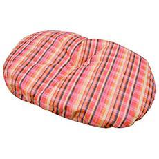 Cuscino per cani e gatti 60x100 in cotone e poliestere colori assortiti