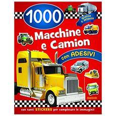 1000 macchine e camion. Con adesivi