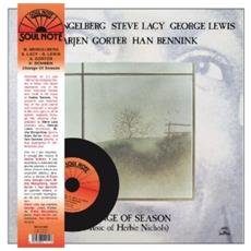 Misha Mengelberg / Steve Lacy / George Lewis / Arjen Gorter - Change Of Season (Lp+Cd)