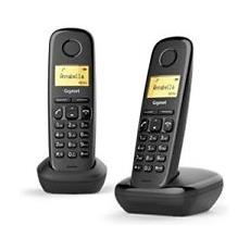 Cordless Duo A170 Analog / DECT colore Nero