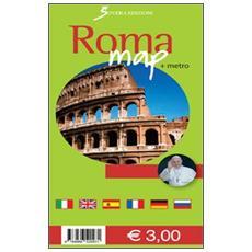 Roma map. Ediz. multilingue