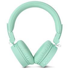 Cuffie Bluetooth con Microfono 3HP200PT Colore Verde Acqua