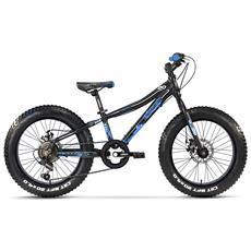 Fat Bike Lombardo Pinerolo 20 Ty21 Nero Blu Opaco