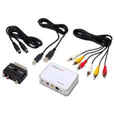 Adattatore per Acquisizione Video AV 300 MX RCA / S-Video