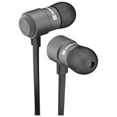 Byron BT, Stereofonico, Bluetooth, Interno orecchio, Nero, Argento, Bluetooth, Intraurale