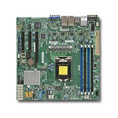 X11SSH-LN4F, Intel, DDR4-SDRAM, Micro ATX, 4GB, 8GB, 16GB, Intel C236, Socket H4 (LGA 1151)