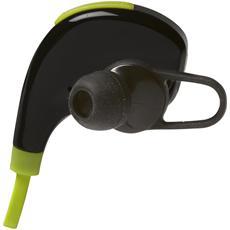 BTE-100, Auricolare, Stereofonico, Nero, Verde, Digitale, Bluetooth, Multi-key, Volume +, Volume -