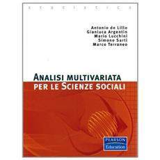 Analisi multivariata per le scienze sociali
