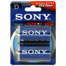 Batterie Plus D LR20 1 5V 2PK