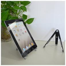 ICA-TBL V3 - Supporto da tavolo pieghevole per tablet in metallo gommato