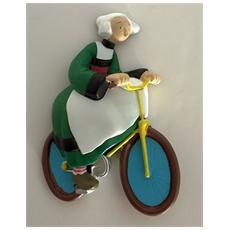70171 - Becassine - Calamita Becassine Con Bicicletta