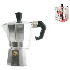 Caffettiera Express Alluminio Caldo Caffè Tazzine 3 Tavola