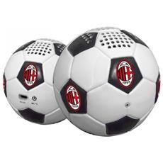 Mini-Cassa Acustica con Bluetooth e stabilizzatore di posizione AC Milan