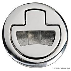 Alzapagliolo inox + serratura