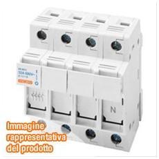 Portafusibile Sezionabile 3P+N 8,5X31,5 400V 20A