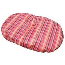 Cuscino per cani e gatti 55x80 in cotone e poliestere colori assortiti