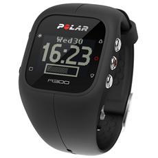 A300 Orologio Fitness e Activity Monitor Bluetooth con Cardiofrequenzimetro Calorie e Sonno - Nero