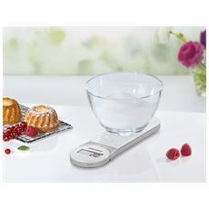 Bilancia Cucina GENIO White 5Kg / 1g-66226