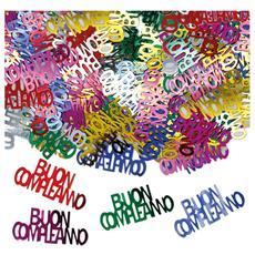 Coriandoli Decorativi Da Tavolo Buon Compleanno Multicolor