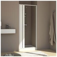 Porta Doccia 90cm H185 Pvc Mod. Aura Laterale
