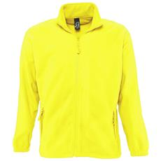 Felpa Invernale Da Esterni Con Zip Uomo (xl) (giallo Neon)