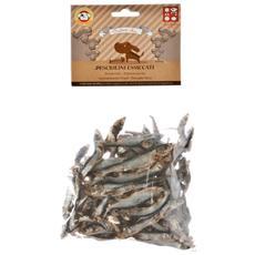 Snack pesciolini essiccati per cani