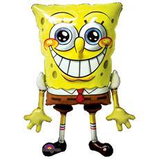 Palloncino Gigante A Forma Di Spongebob 117 Cm *05587