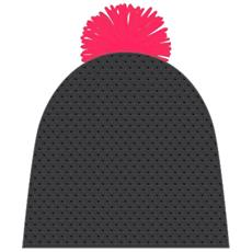 Cappello Uomo Leon Beanie Nero 56