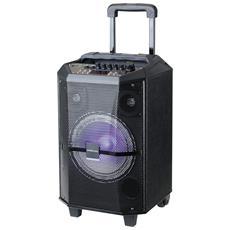 Speaker per Sistema PA con Bluetooth Potenza 150W Colore Nero