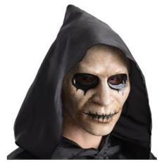 Maschera Zombie C / bocca Cucita In Plastica Cf1