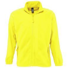 Felpa Invernale Da Esterni Con Zip Uomo (xxl) (giallo Neon)