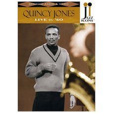 Dvd Jones Quincy - Live In '60