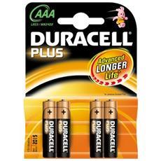 conf. 4 Pile alcal Duracell Plus Ministilo MN2400G 394938144