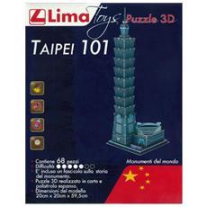 Puzzle 3D Taipei 101 pz 22 x 28 x 28 cm 524188