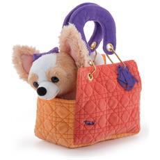 29788 - Chihuahua Orange Bag